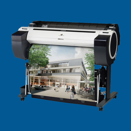 Grootformaat printen in de stad