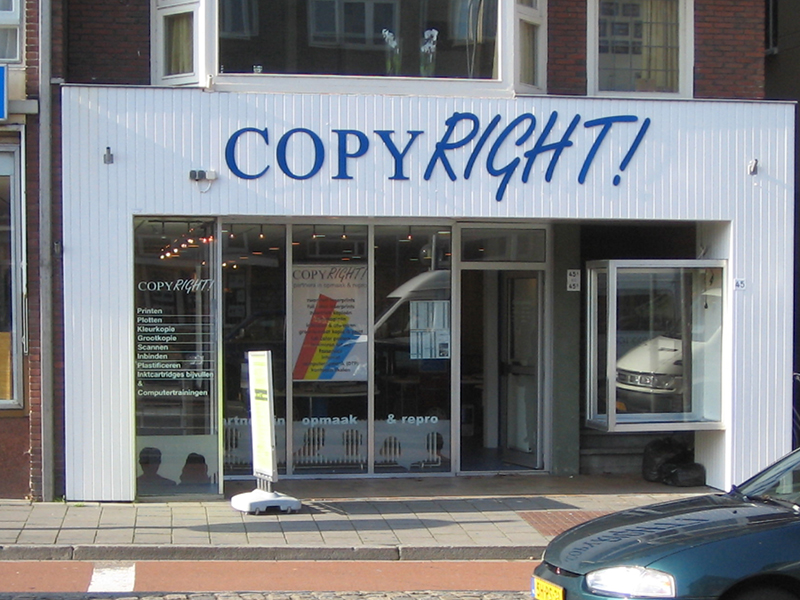 Copyright Kerklaan